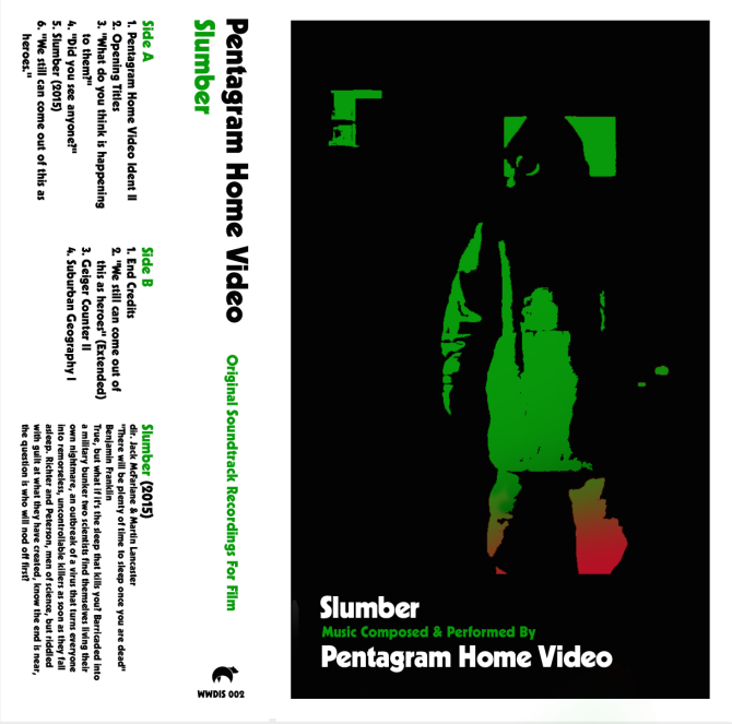 Pentagram Home Video - Slumber - cover